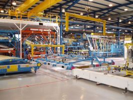 Aerospace Industry - completed projects of GH Cranes Arabia