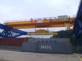 Container Cranes Industry - completed projects of GH Cranes Arabia