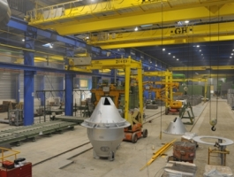 Foundry Industry - completed projects of GH Cranes Arabia