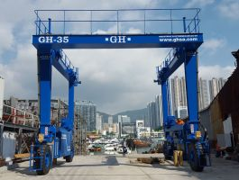 Marina Industry - completed projects of GH Cranes Arabia