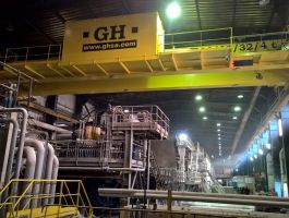 Paper Mills Industry - completed projects of GH Cranes Arabia