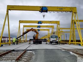 Railways Industry - completed projects of GH Cranes Arabia