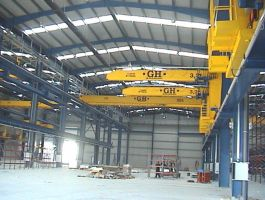 Steel Constructions Industry - completed projects of GH Cranes Arabia