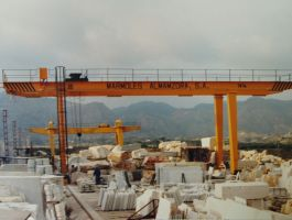 Stone Handling Industry - completed projects of GH Cranes Arabia